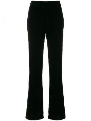 Расклешенные брюки Blugirl. Цвет: чёрный