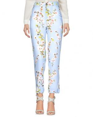 Повседневные брюки TRUE TRADITION. Цвет: небесно-голубой