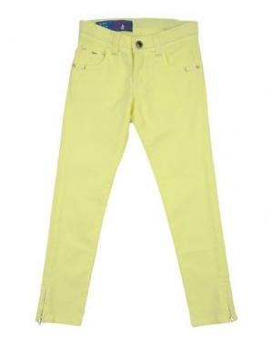 Джинсовые брюки HARMONT&BLAINE. Цвет: желтый