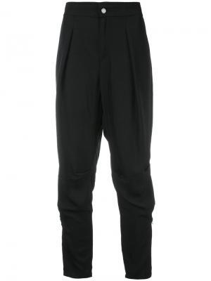 Укороченные брюки с заниженной проймой Tom Ford. Цвет: чёрный