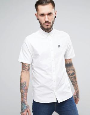 Penfield Белая оксфордская рубашка классического кроя Danube. Цвет: белый