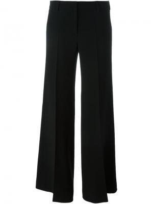 Широкие брюки Alberto Biani. Цвет: чёрный