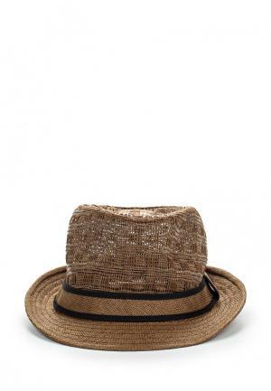 Шляпа Piazza Italia. Цвет: коричневый