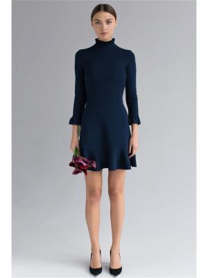 Платье мини с оборками Self Made