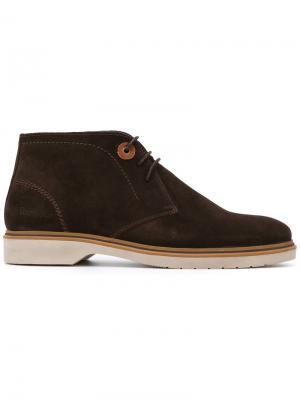 Hudson desert boots Barbour. Цвет: коричневый