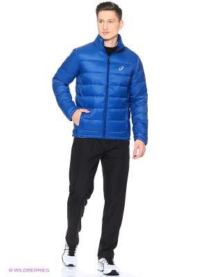 Куртка PADDED JACKET ASICS. Цвет: темно-синий