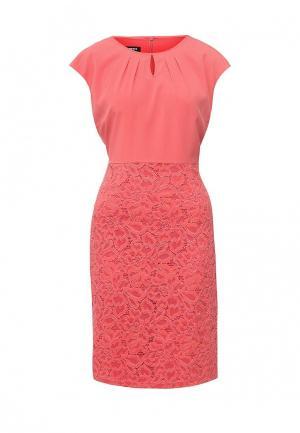 Платье Gerry Weber. Цвет: коралловый
