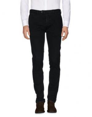 Повседневные брюки GIO ZUBON. Цвет: темно-зеленый
