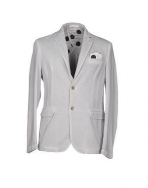 Пиджак SSEINSE. Цвет: светло-серый