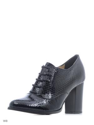 Туфли ESTELLA. Цвет: черный, антрацитовый