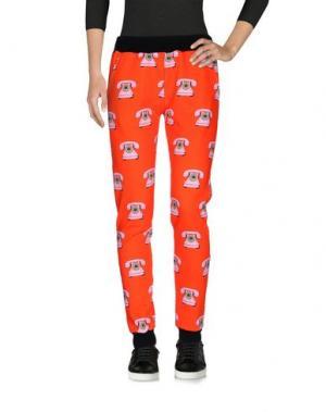 Повседневные брюки 10X10 ANITALIANTHEORY. Цвет: красный