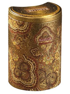 Чай Basilur ВОСТОЧНАЯ КОЛЛЕКЦИЯ Золотой месяц Golden Crescent. Цвет: бронзовый, темно-зеленый