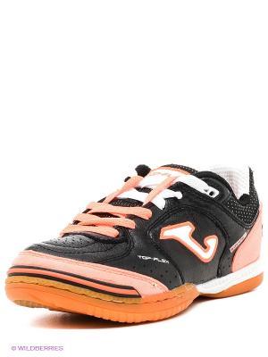 Футзальная Обувь Top Flex Joma. Цвет: черный, оранжевый