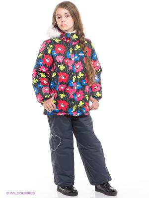 Комплект одежды Kerry. Цвет: красный, синий
