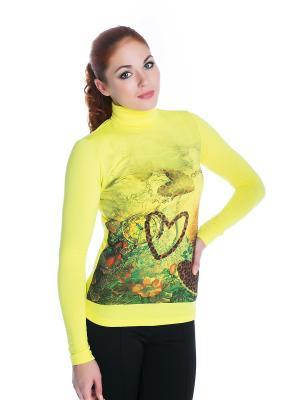 Водолазка VIVO. Цвет: зеленый, желтый, салатовый