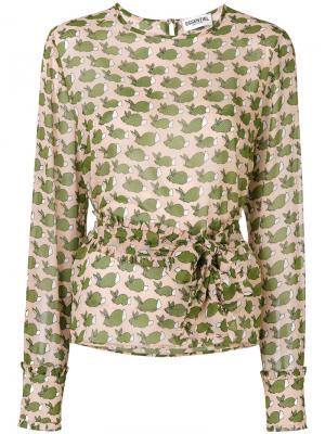 Рубашка Olavi Essentiel Antwerp. Цвет: многоцветный