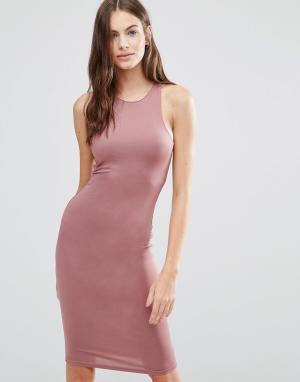 Pixie & Diamond Цельнокройное платье. Цвет: фиолетовый