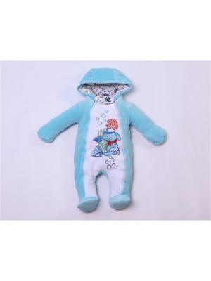 Комбинезон batik. Цвет: голубой