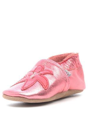 Пинетки MELTON. Цвет: розовый