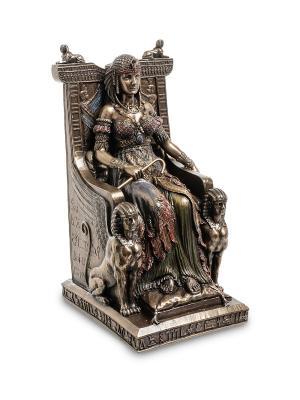 Статуэтка Египетская царица на троне Veronese. Цвет: бронзовый