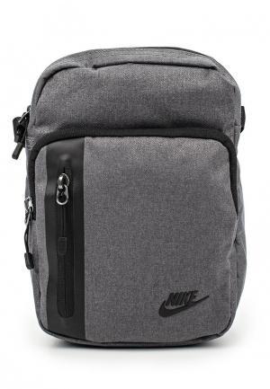 Сумка Nike. Цвет: серый