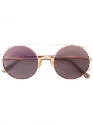 Солнцезащитные очки Valentine Sunday Somewhere. Цвет: металлический