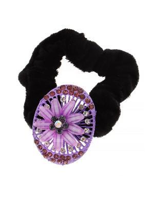 Резинка Migura. Цвет: фиолетовый, черный