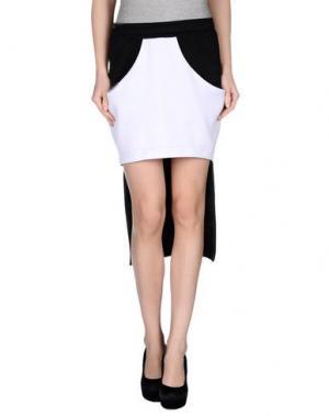 Мини-юбка MNML COUTURE. Цвет: черный
