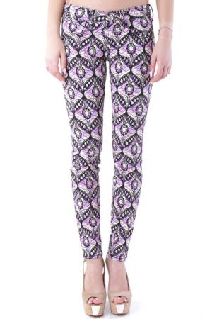 Trousers Fornarina. Цвет: multicolor