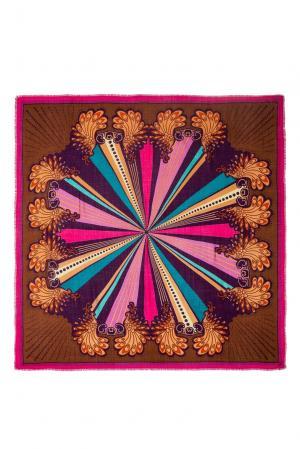 Платок из шерсти 183403 Moltini. Цвет: разноцветный
