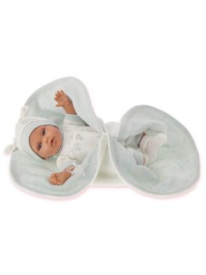 Кукла Марти, озвученная, 29 см. Antonio Juan. Цвет: молочный, светло-голубой