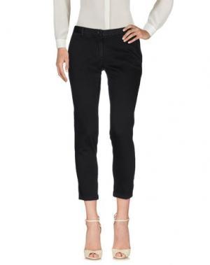 Повседневные брюки PERFECTION. Цвет: черный