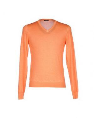 Свитер ZANIERI. Цвет: оранжевый