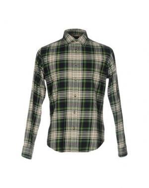 Pубашка MAVERICK. Цвет: зеленый