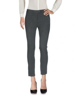 Повседневные брюки HOPPER. Цвет: свинцово-серый