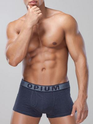 Трусы OPIUM. Цвет: синий