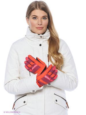 Перчатки BURRAN. Цвет: фуксия, оранжевый