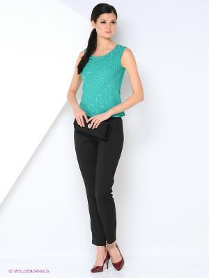 Блузка KEY FASHION. Цвет: зеленый