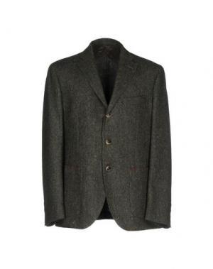 Пиджак SARTORIA LATORRE. Цвет: зеленый-милитари