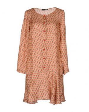 Короткое платье .TESSA. Цвет: телесный