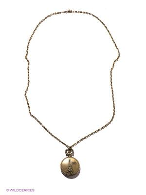 Кулон-часы Средний медальон PARIS Mitya Veselkov. Цвет: бронзовый