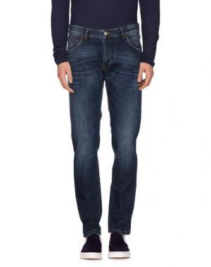 Джинсовые брюки NEW ENGLAND. Цвет: синий