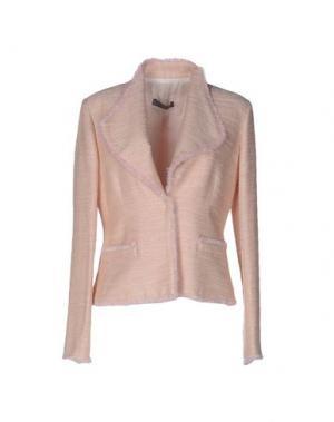 Пиджак SCRUPOLI. Цвет: розовый