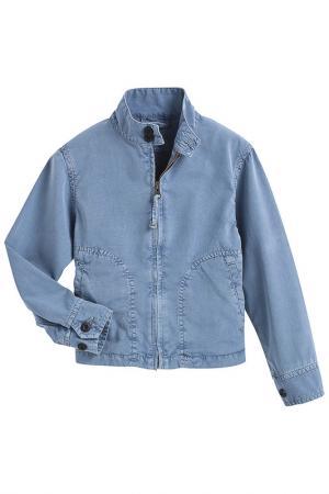 Куртка HARTFORD. Цвет: синий