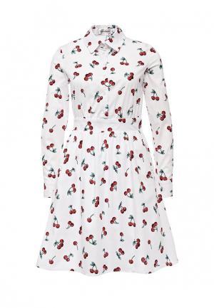 Платье Tutto Bene. Цвет: белый