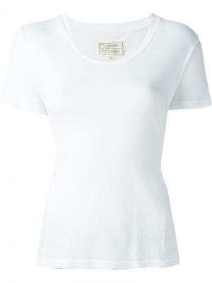 Классическая футболка Current/Elliott. Цвет: белый