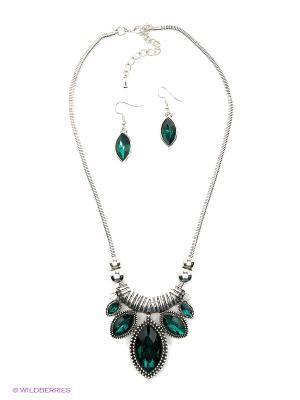Комплект бижутерии Lovely Jewelry. Цвет: зеленый