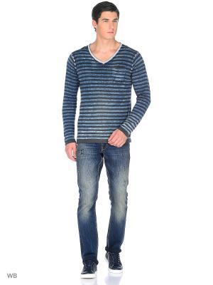 Пуловер GARCIA. Цвет: синий