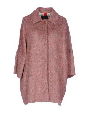 Пальто FEMME by MICHELE ROSSI. Цвет: розовый