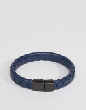 Seven London Кожаный браслет. Цвет: коричневый